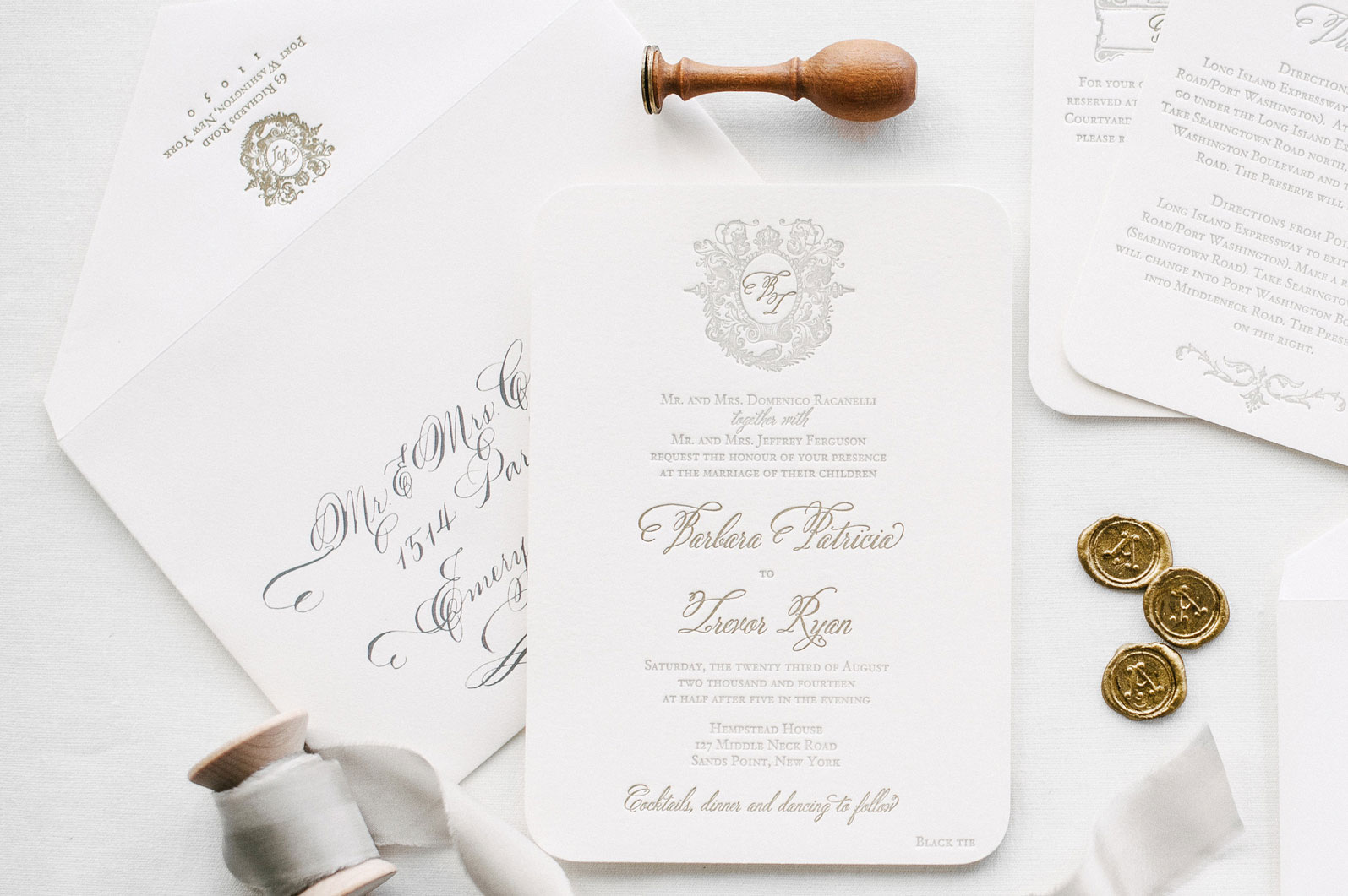 How to Order Custom Letterpress Wedding Invitations | De-mystifying ...