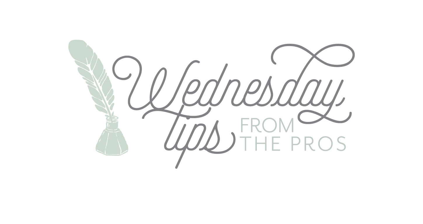 Wedding Wednesday Pro Tips No. 1