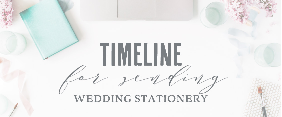 When Should Wedding Invites Be Sent: When To Send Wedding Invitations