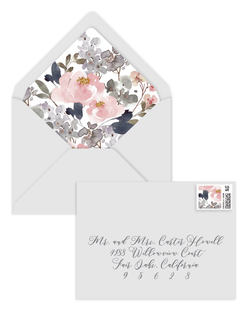 Qa whats the proper way to assemble wedding invitations 18 off winter wedding promo junglespirit Image collections